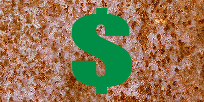 Thumbnail for Personal Finance.  Dollar Sign depicted against rust background.